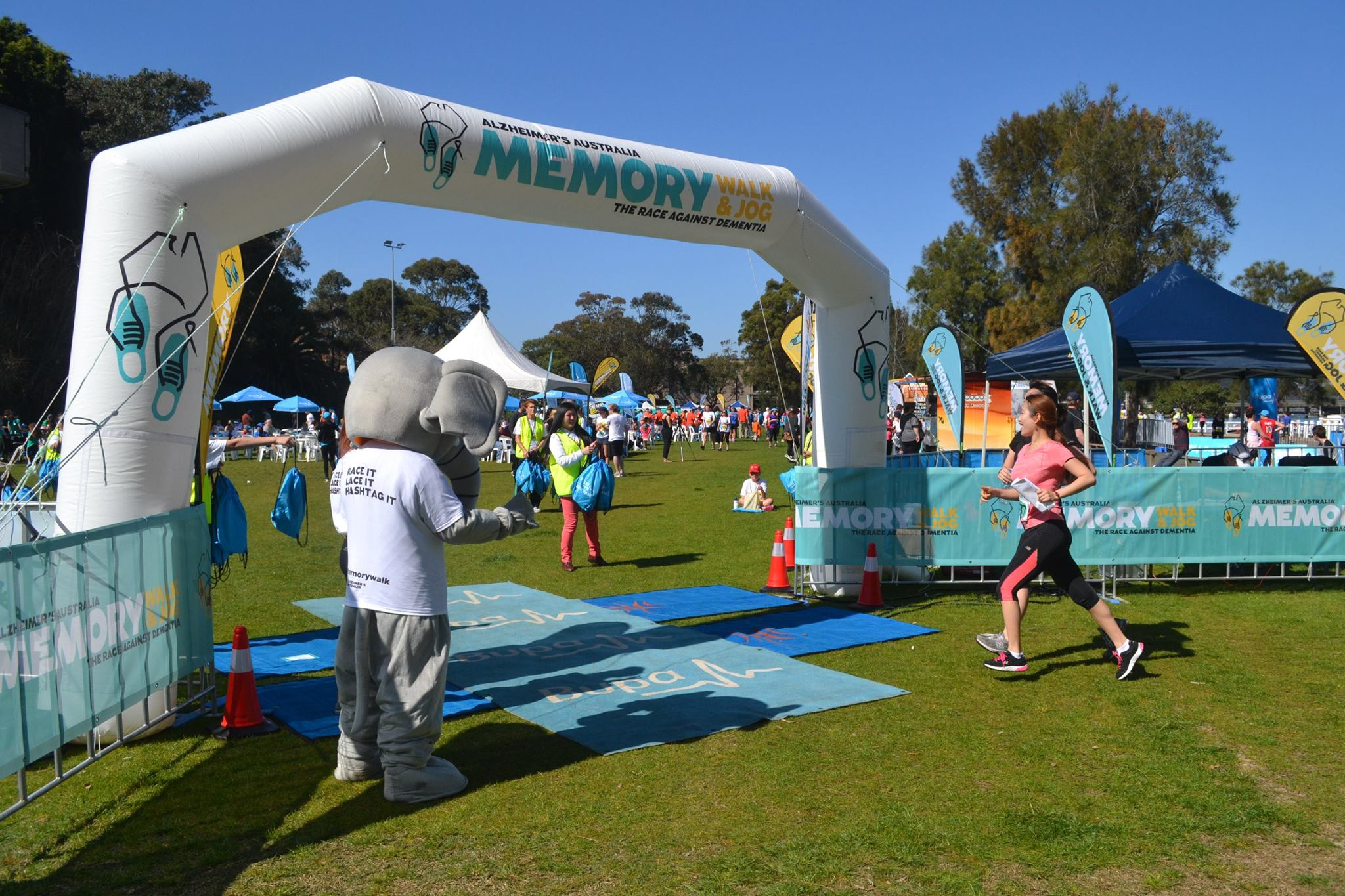 Memory Walk and Jog Events in 2016